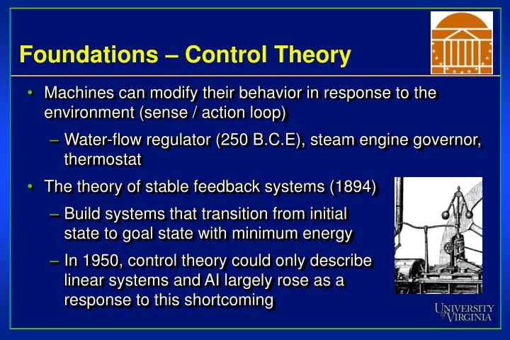 Foundations – Control Theory