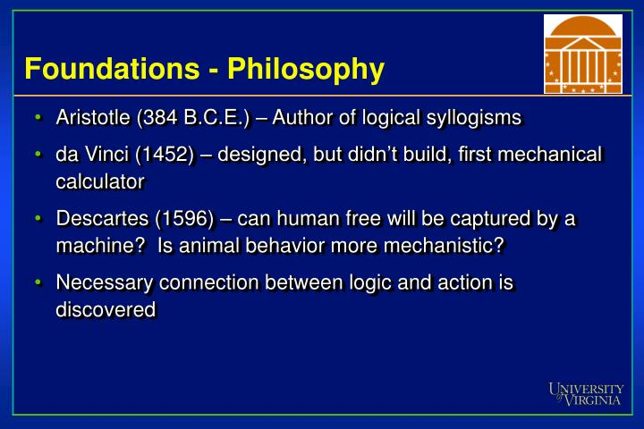 Foundations - Philosophy
