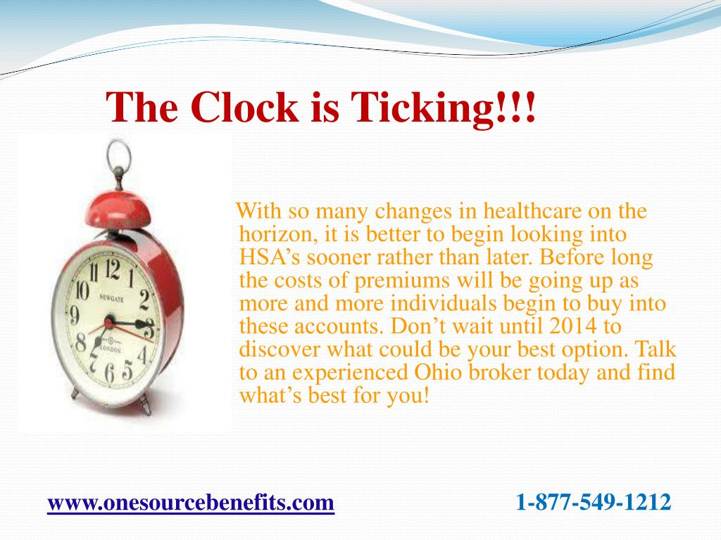 The Clock is Ticking!!!