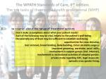 the wpath standards of care 6 th edition the ten tasks of the mental health professional mhp3