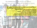 the wpath standards of care 6 th edition the ten tasks of the mental health professional mhp6
