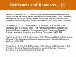 references and resources 1