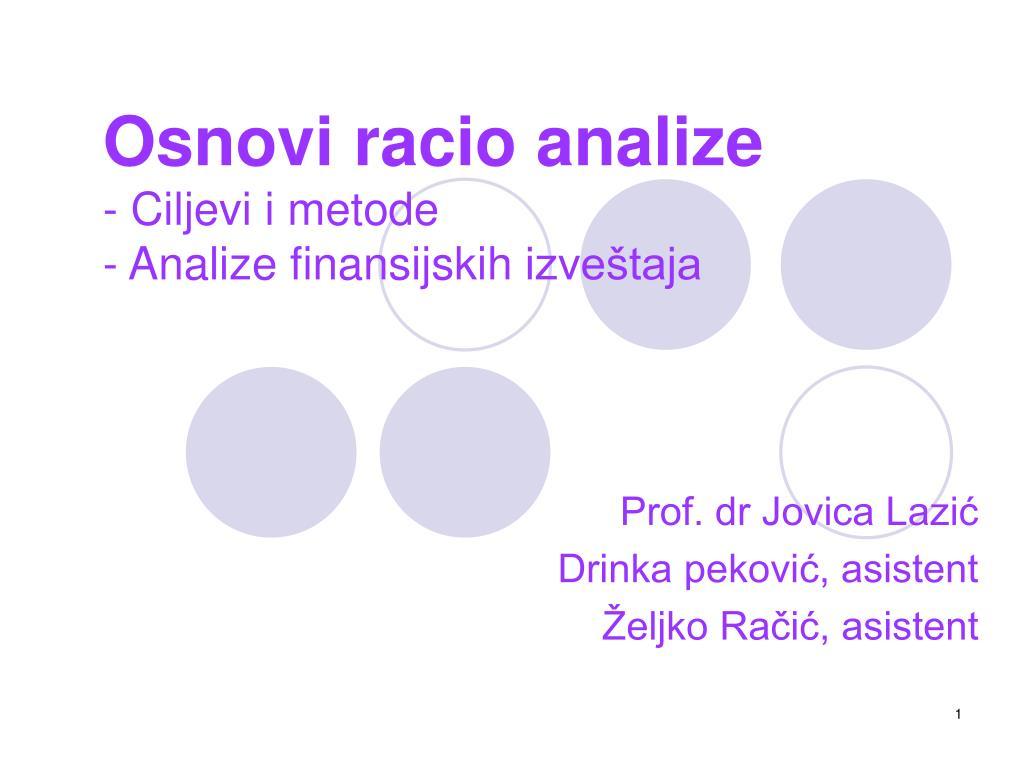 prof dr jovica lazi drinka pekovi asistent eljko ra i asistent l.