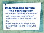 1 understanding culture the starting point6