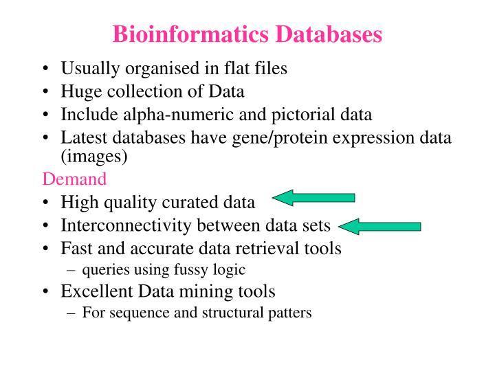 Bioinformatics Databases