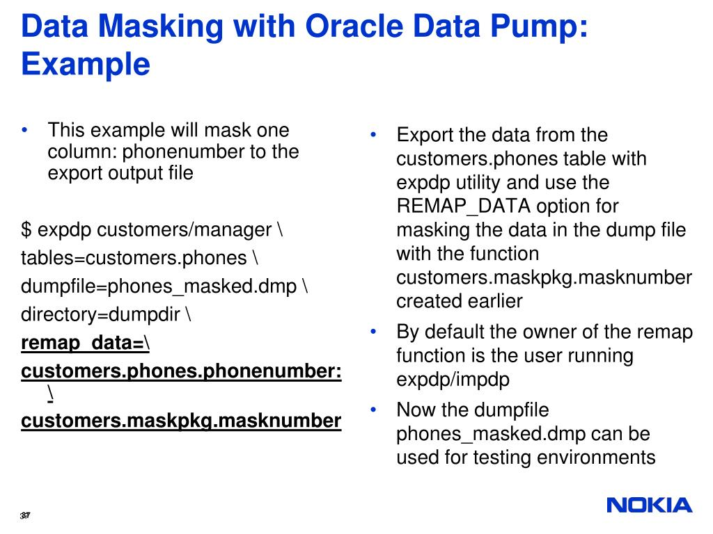 PPT - Get the Best Out of Oracle Data Pump Functionality PowerPoint