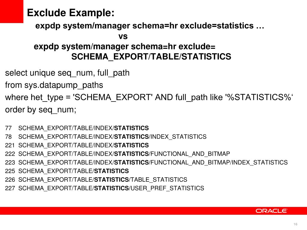 PPT - Get the Best Out of Oracle Data Pump Functionality