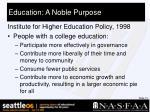 education a noble purpose10