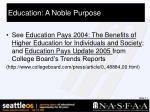 education a noble purpose11