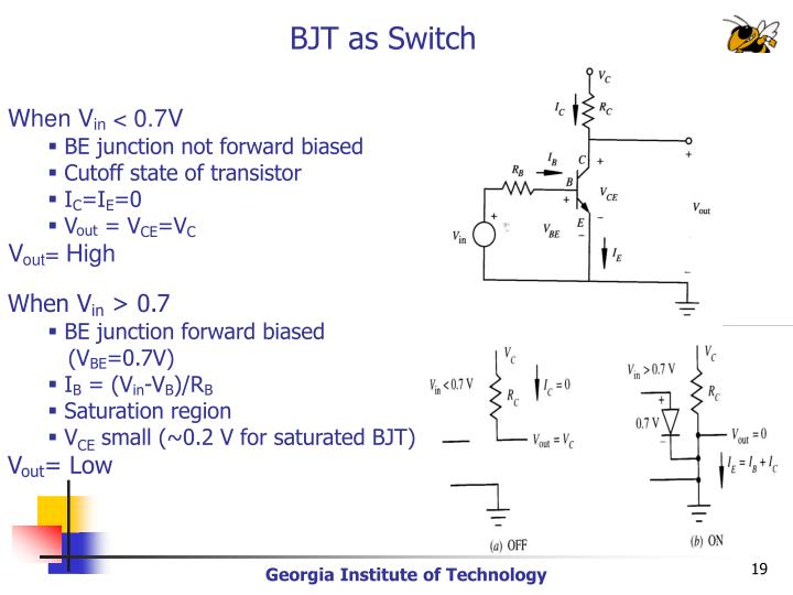 BJT as Switch