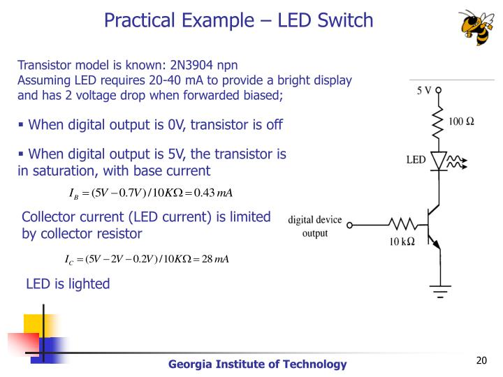 Practical Example – LED Switch