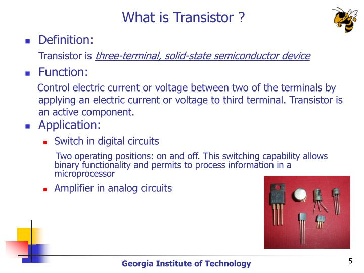What is Transistor ?
