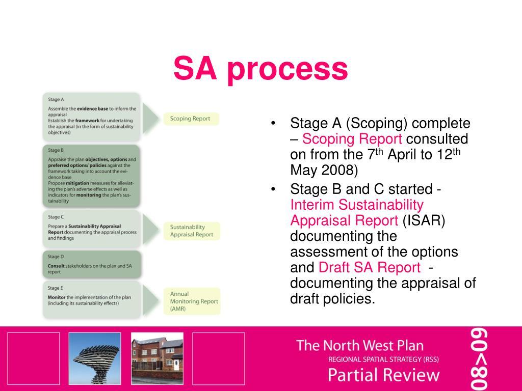 SA process