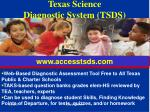texas science diagnostic system tsds