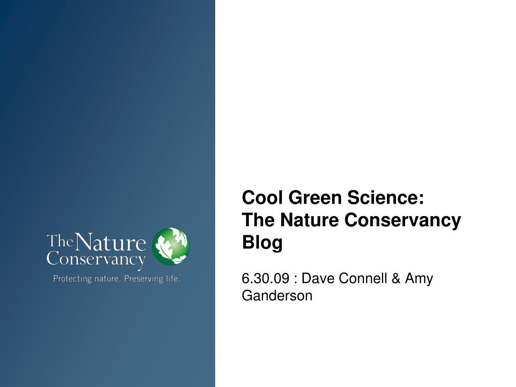 cool green science the nature conservancy blog l.