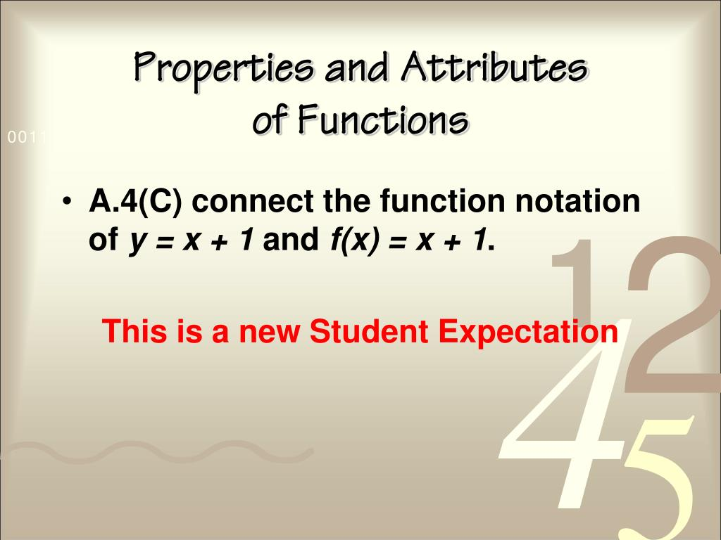 Properties and Attributes