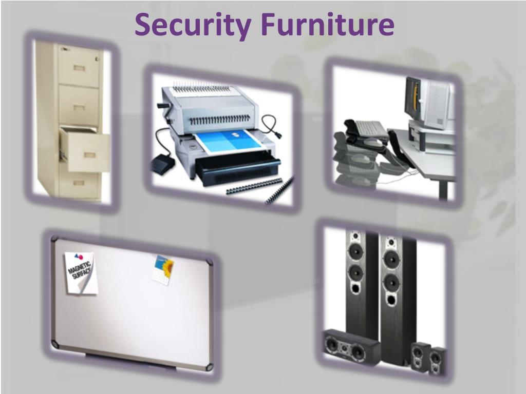 Security Furniture