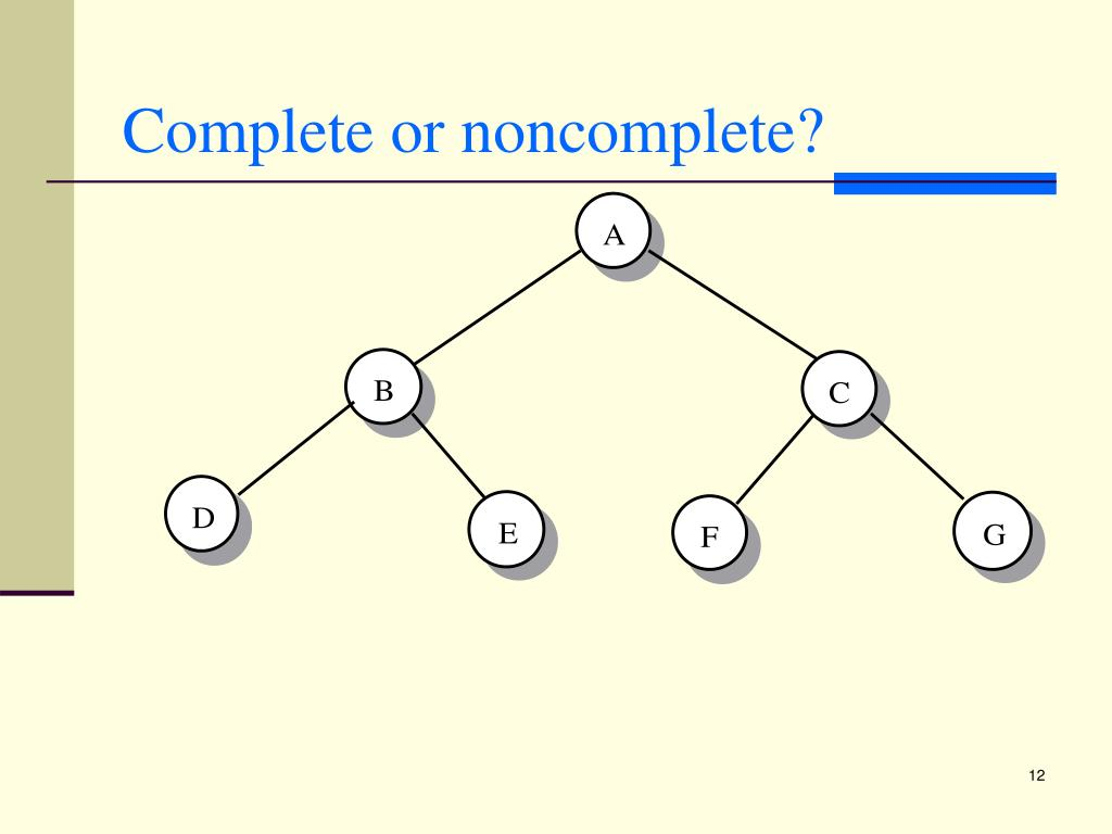 Complete or noncomplete?