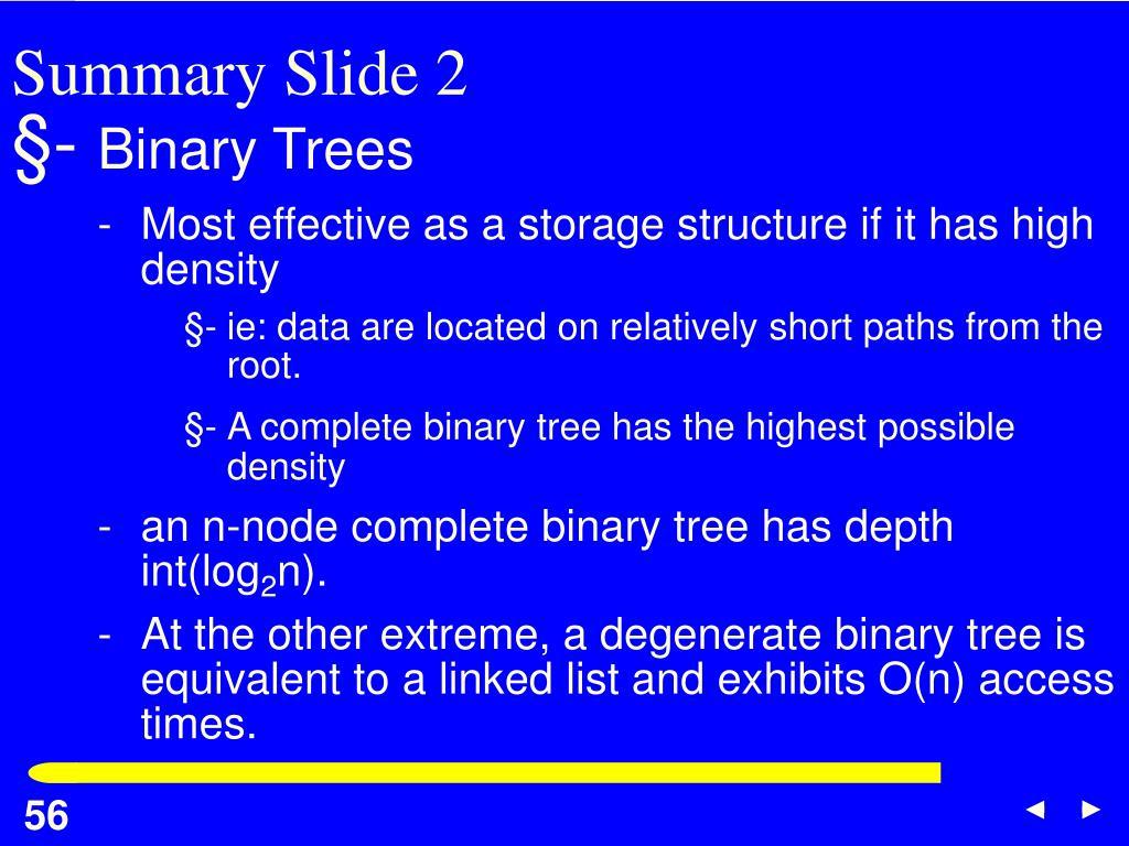 Summary Slide 2