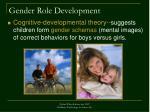 gender role development1