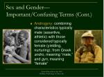 sex and gender important confusing terms cont3