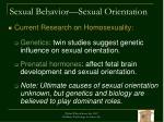 sexual behavior sexual orientation1