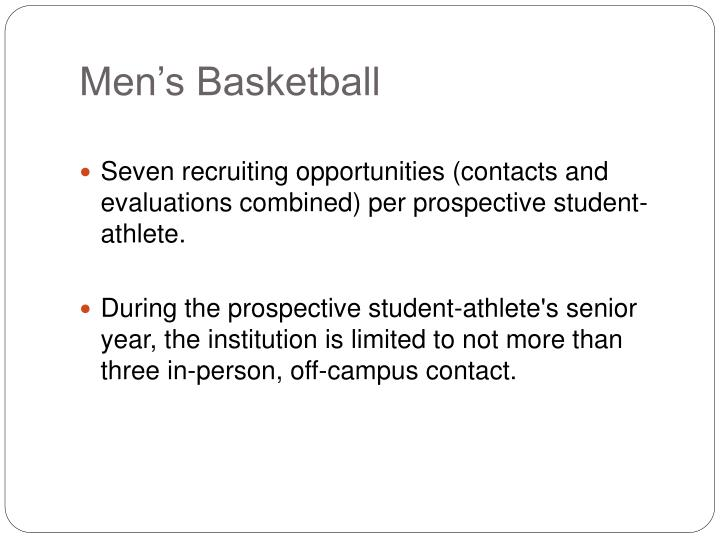 Men's Basketball
