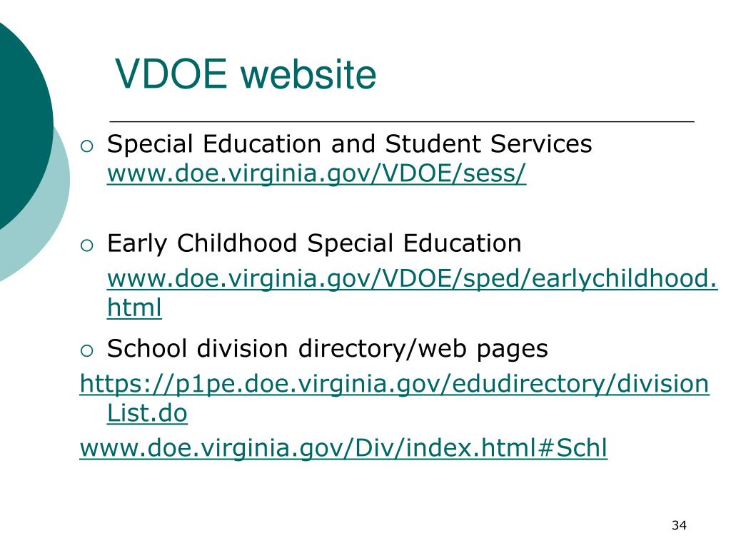 VDOE website
