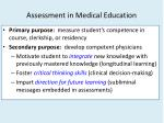 assessment in medical education