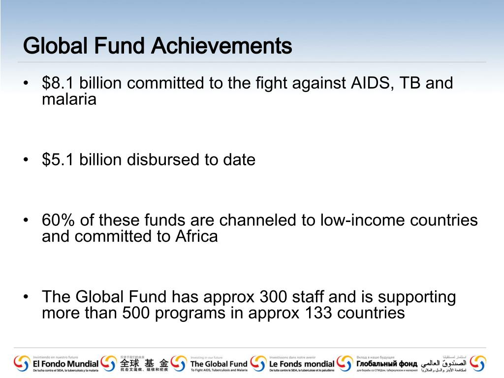Global Fund Achievements