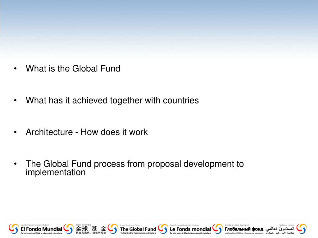 What is the Global Fund
