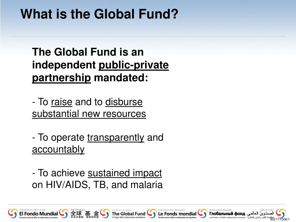What is the Global Fund?