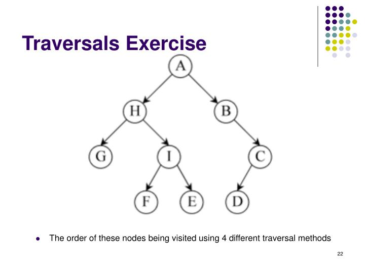 Traversals Exercise