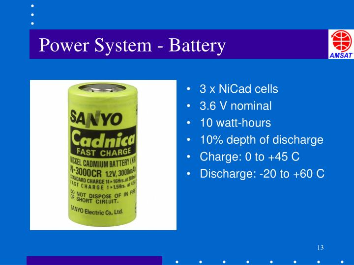 Power System - Battery