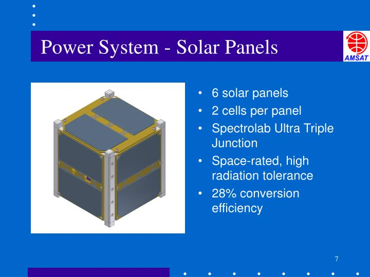 Power System - Solar Panels