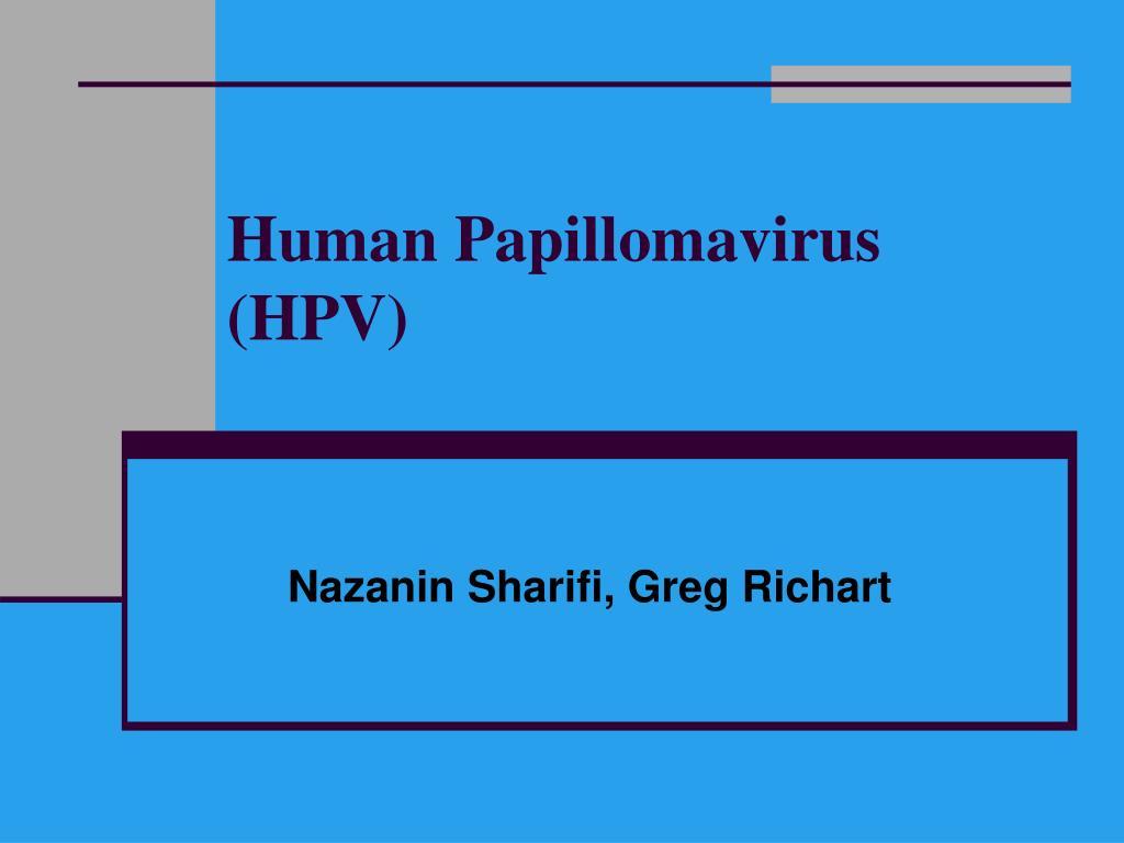human papillomavirus ppt)