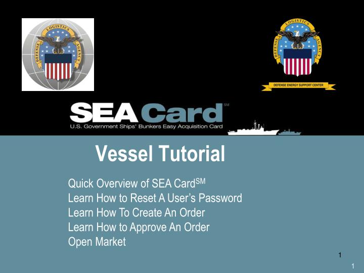 vessel tutorial