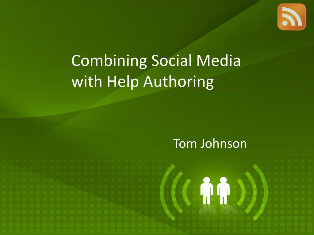 combining social media with help authoring l.