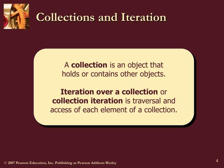 Collections and Iteration