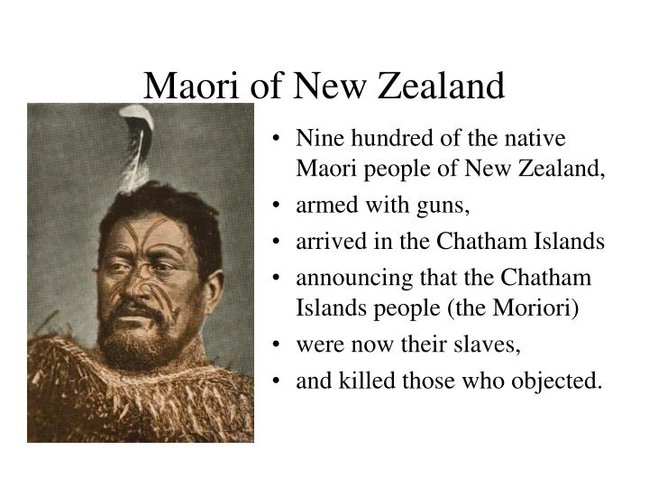 Maori of New Zealand