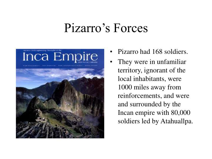 Pizarro's Forces