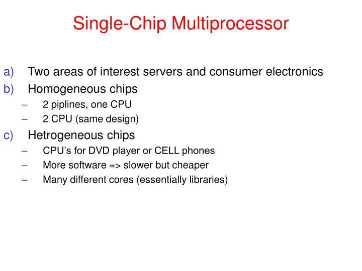 Single-Chip Multiprocessor