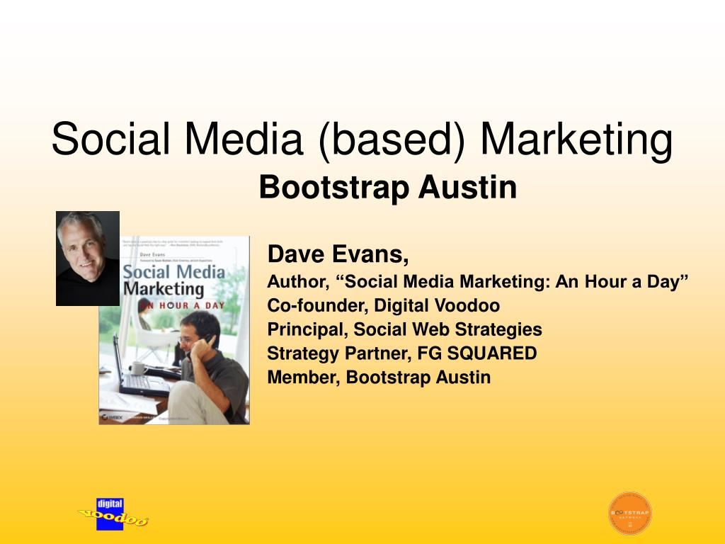 social media based marketing l.
