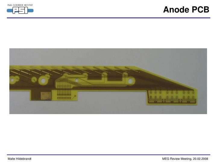 Anode PCB