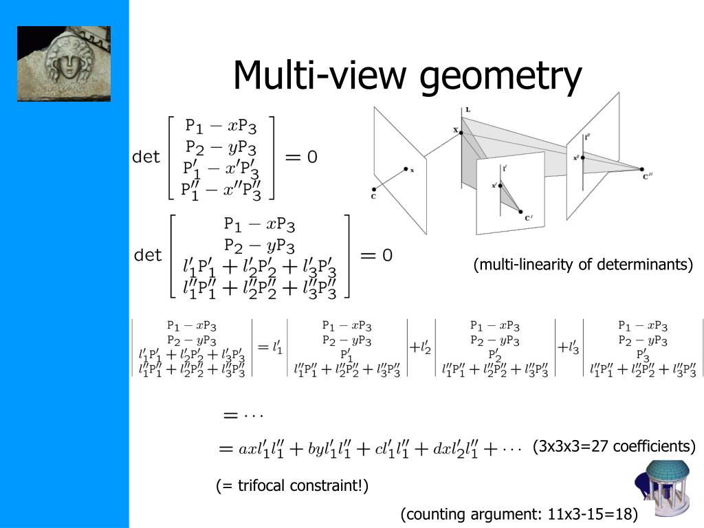 PPT - Triangulation and Multi-View Geometry Class 9