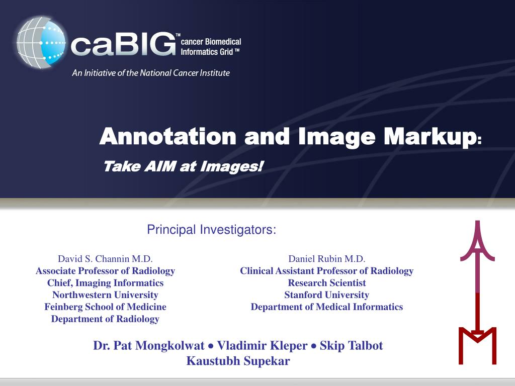 Annotation and Image Markup