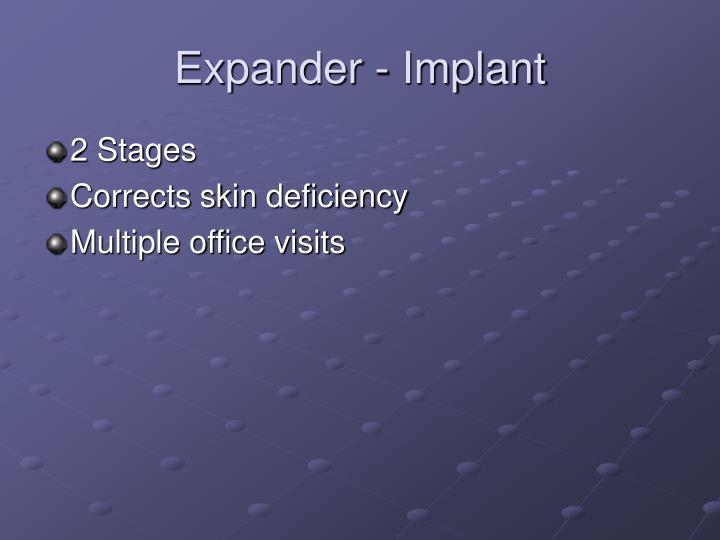 Expander - Implant
