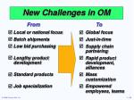 new challenges in om