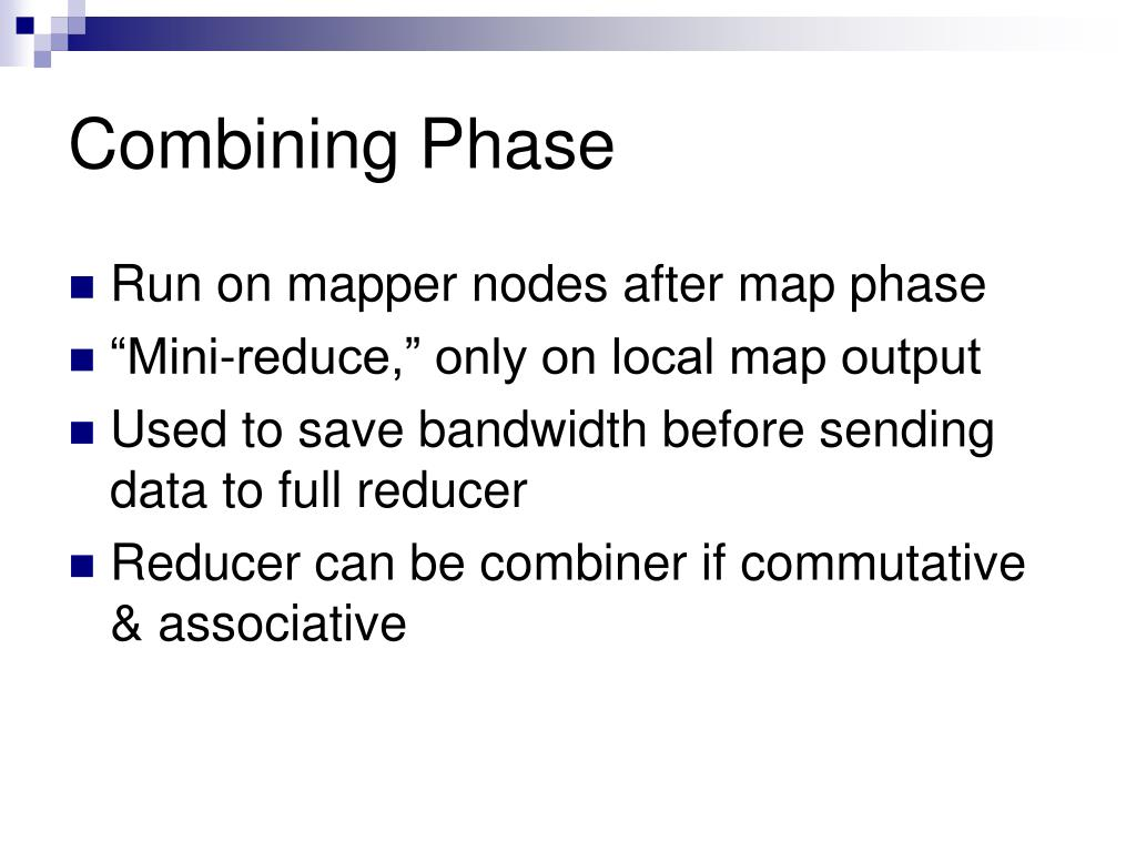 Combining Phase