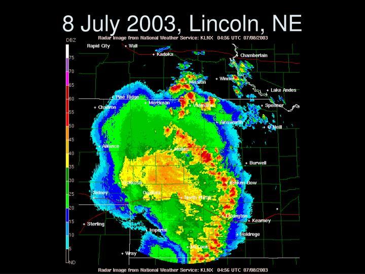 8 July 2003, Lincoln, NE